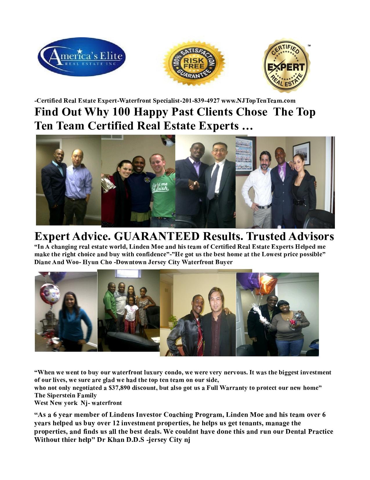 Linden Moe Real Estate Experts Reviews