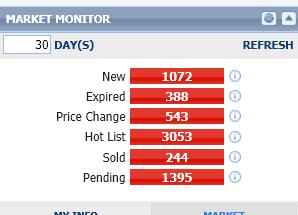 Hudson Real Estate Market 30 Day Overview
